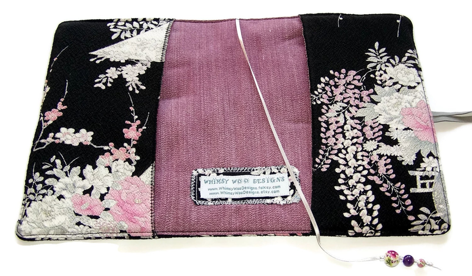 Fabric Book Covers Uk : Fabric book cover handmade bible kimono by