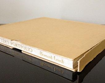 A Potter's Portfolio A Selection of Fine Pots - 1951 - by Author Bernard Leach - Hardcover