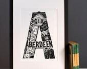 Aberdeen print or greeting card