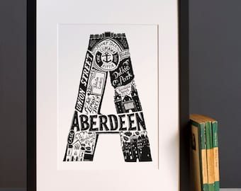 Aberdeen print or greeting card