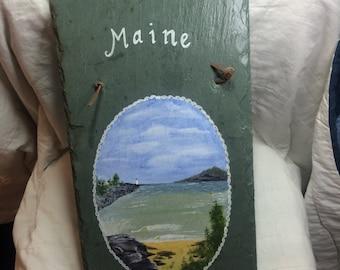 Maine Plaque