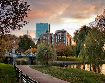 Photograph of the Public Garden, Boston