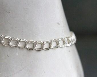 Elegant Sterling Silver Bracelet - Vintage Jewelry