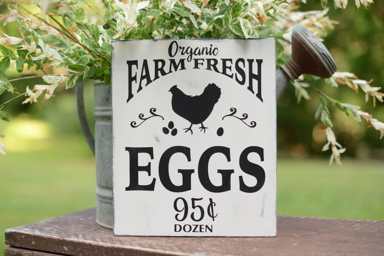 Farmer Gift Chicken Wood Sign Chicken Sign Farmhouse