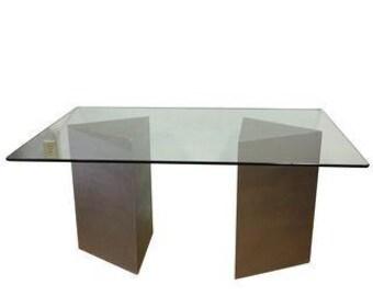 Modern Triangular Wearstler Inspired Dining Table