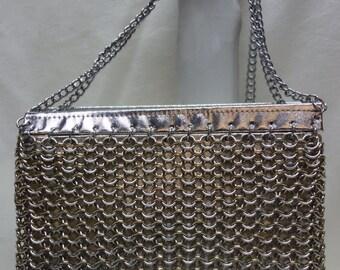 MISTER ERNEST Vintage 60s70s Chainmail Silverstone Shoulder-bag HongKong