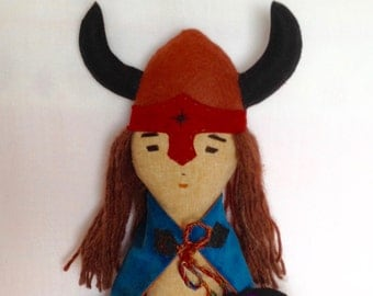 Viking Boy Doll