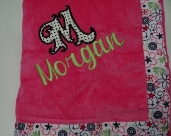 Set of 6 Personalized Towel Wraps - Perfect Bridesmaid / Grad Gift