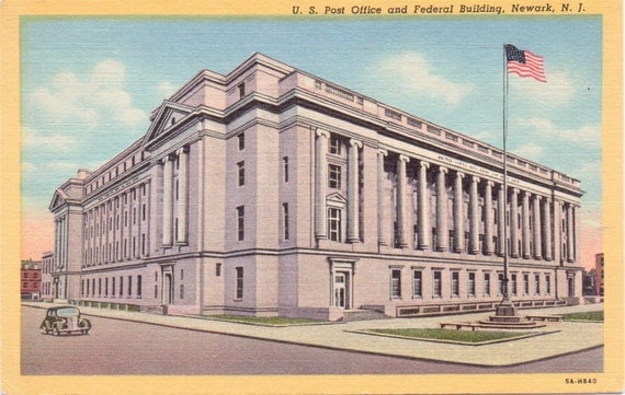 srca post offices shipping newark