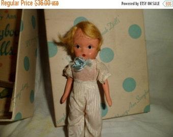 Valentine SALE Vintage Nancy Ann Storybook RING BEARER Doll # 84