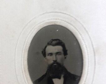 Original Tintype Gem Victorian Photograph Man