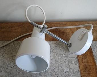 Vintage Spotlight, Wall Light in White