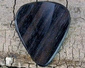 Macassar Ebony - Wooden Guitar Pick - Wood Guitar Pick - Wood Plectrum - Exotic Wood - Wood Gift
