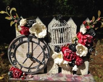 Prima Altered Picket Fence Clock