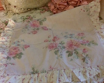 Retired Simply shabby chic twin duvet cover and pillowcase
