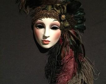 Autumn Sun mask