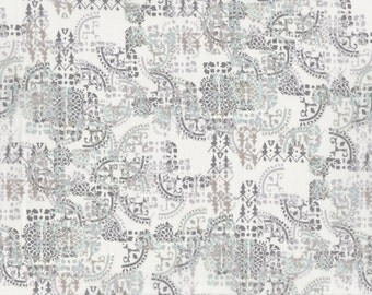 Fat eighth Mosaic Lace A Liberty print, lace design inspired Liberty of London tana lawn