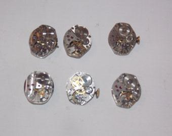 6 Womens Jeweled Watch Movements