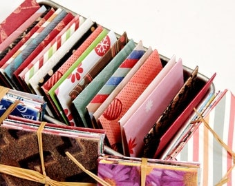 Tiny Envelope Assortment, Mini 2 x 2 inch Handmade Decorative Gift Enclosure Patterned Paper Pouches, Tooth Fairy Envelopes  itsyourcountry
