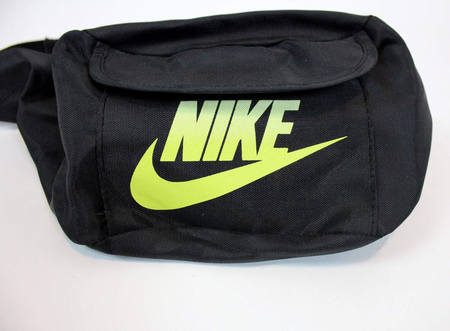 Vintage Nike Neon Green And Black Fanny Pack