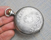 Sterling ILLINOIS Antique Pocket Watch for parts.Didn't work.