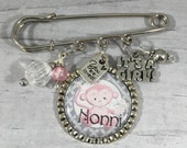 Granny To Be Pin, FREE Key Ring Included, Mama to be, New Baby, Baby Girl, Baby Boy, New Grandma Gift, Mother Gift, Baby Shower Favor, Nana