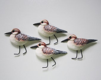 shorebird wall art sculpture,sanderling wall art,nautical decor,sandpiper wall sculpture