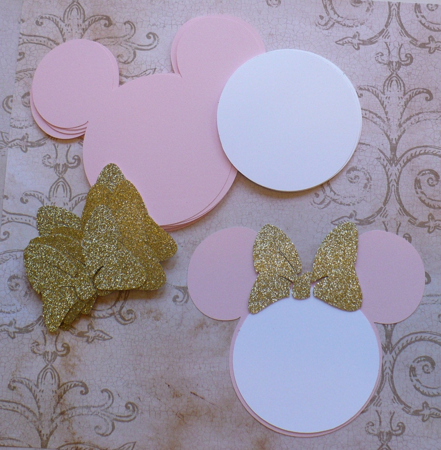 Michaels Craft Gold Paper