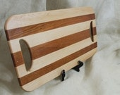 Maple and Cherry Hardwood Cutting Board or Carving Board