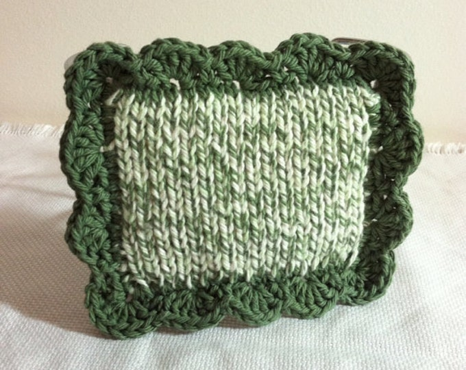 Dish Scrubbies / Pot Scrubber / Scrubbie / Dishcloth / Sponge / Nylon Scrubbie / Scrubber / Green Twists