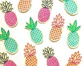 DIY Iron on Appliques (4) - Pineapples