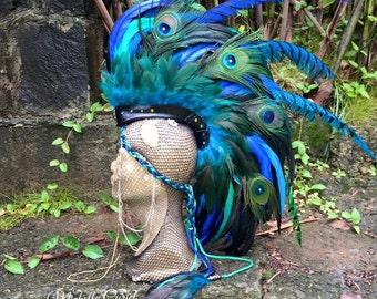 Ahti  - Customizable Feather Mohawk / Headdress