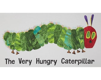 The Very Hungry Caterpillar Main Panel from Andover Fabrics
