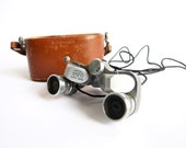 Vintage Binoculars, Vintage Lichter KOC 6 x 18 Miniature Binoculars Occupied Japan 1950s