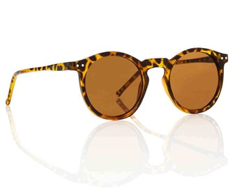 OMalley Round Tortoise Sunglasses - Brown X American Deadstock Eyewear