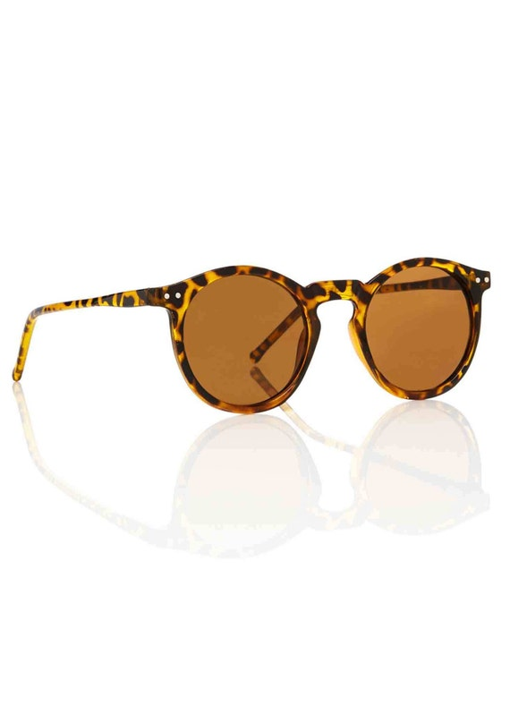 OMalley Round Tortoise Sunglasses - Brown X American Deadstock Eyewear