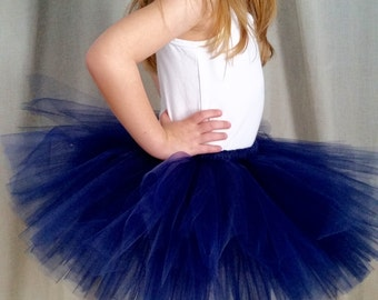 Navy Blue Tutu | Baby Toddler Tutu Skirt | Sailor | Baby Shower Gift | Birthday Party | Holiday | Halloween Costume | Sports | Wedding