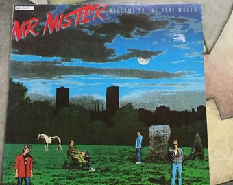 Mr Mister Welcome To The Real World  on RCA records 1985