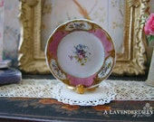 Pink Sevres Dollhouse Plate