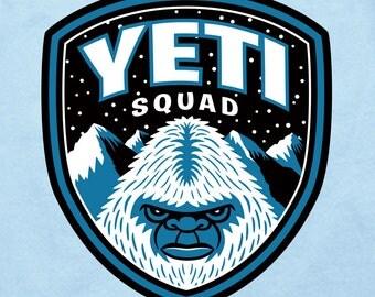 Yeti Squad t-shirt