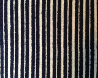 Vintage Japanese indigo cotton fabric