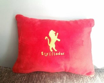 Gryffindor inspired pillow