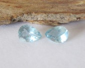 Mozambique Aquamarine 7x5mm Matched Pair 1.10cts