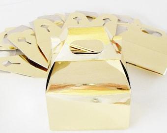 Mini Gold Gable Box