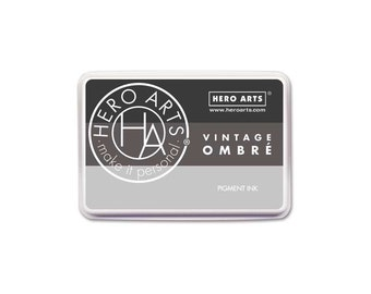 Hero Arts Ombre Vintage Metallic Steel AF347