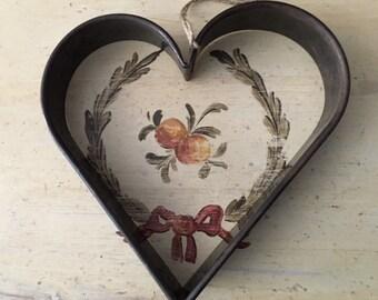 Large Lebkuchen German Heart Cookie Cutter