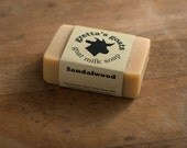 Sandalwood Goat Milk Soap from Hand Milked Goats that Graze on Organically Managed Pasture