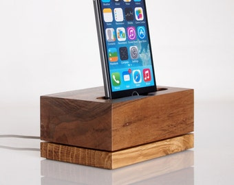iPhone Dock - iPod Touch Dock - modern minimalistic design - unique gift - iPhone 7 / 7 plus compatible