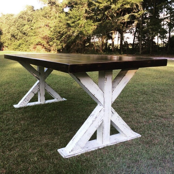 Farm Table With Bench And Chairs: Farm Style Table Farmhouse Table With Benches Reclaimed