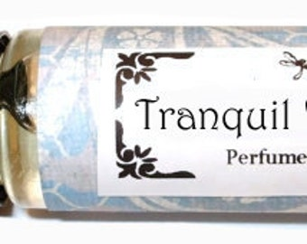 TRANQUIL WATERS - Roll on Premium Perfume Oil -2 sizes to choose from - 1/3 oz or 1/6 oz -  a clean, calming, beautiful water scent
